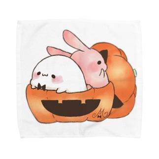 かぼちゃのカップ タオルハンカチ