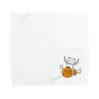 たいねこくんのグッズ Towel handkerchiefs
