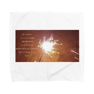 残夏 Towel handkerchiefs