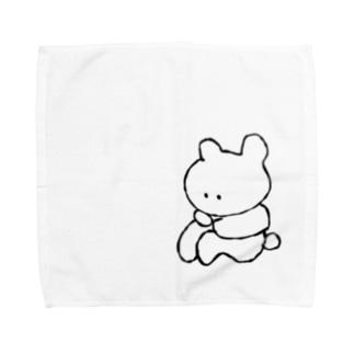おなかすく子 Towel handkerchiefs