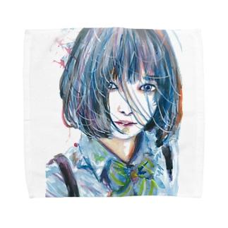 青い風 Towel handkerchiefs