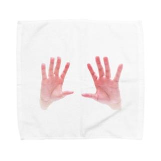 Clearing Towel handkerchiefs