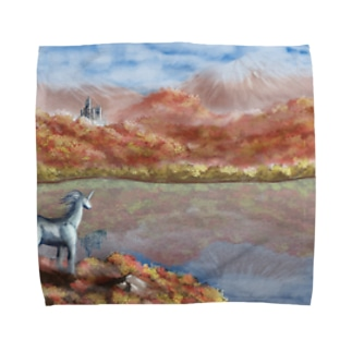 High SIerra in Fantasy Towel handkerchiefs