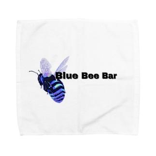bluebeebar タオルハンカチ
