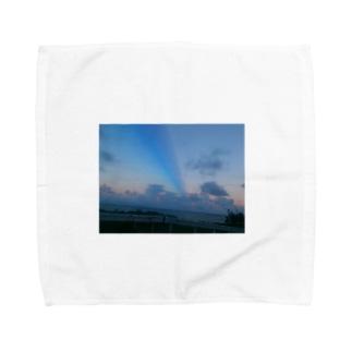 buru-ロード Towel handkerchiefs