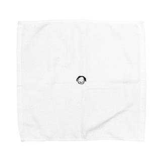 ドット絵のドットちゃん Towel handkerchiefs