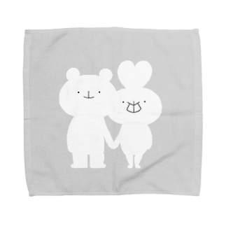 うさっくま×gray Towel handkerchiefs