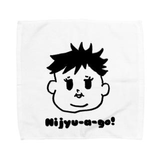 LLP-babyのNijyu-a -go!多毛girl Towel handkerchiefs