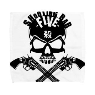 FIVEの京橋蹂躙骸骨 Towel handkerchiefs