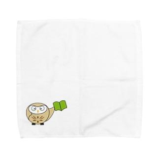 ちえぶくろう Towel handkerchiefs