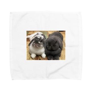サスケとゴマ Towel handkerchiefs