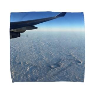 Hawaiiの上空だよ Towel handkerchiefs