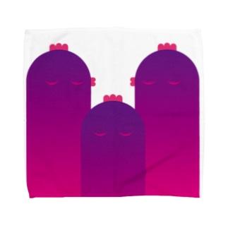 鶏頂 Towel handkerchiefs