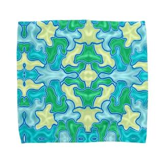 2018.6月NEW「watercoloraloha」 Towel handkerchiefs