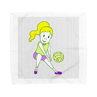 はなやかばれーぼーる Towel handkerchiefs