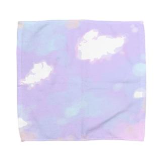おやこぐも Towel handkerchiefs