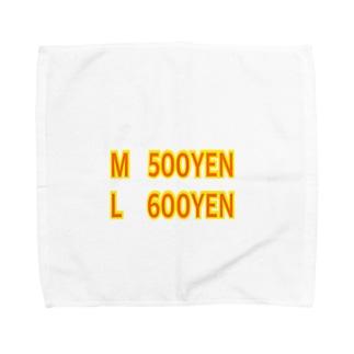 サイズ選び Towel handkerchiefs