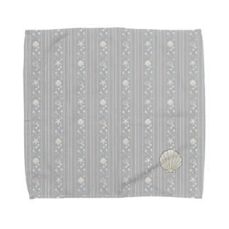 seastripe-fog Towel handkerchiefs