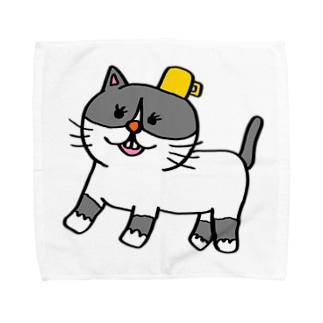 名もないネコ(仮) Towel handkerchiefs