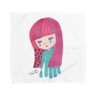 夜が来た Towel handkerchiefs