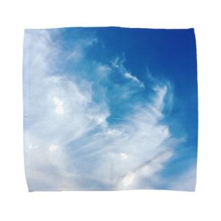 雲の流れ Towel handkerchiefs