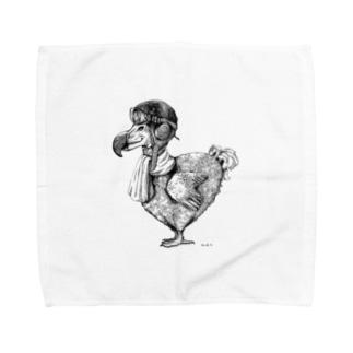 ドードーだっていつか飛びたい Towel handkerchiefs