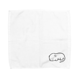 white mouse Towel handkerchiefs