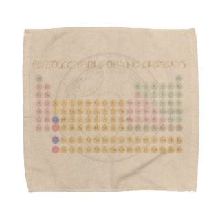 ファンタジー周期表2 Towel handkerchiefs