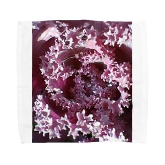 葉っぱの世界 Towel handkerchiefs
