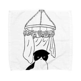 囲い Towel handkerchiefs