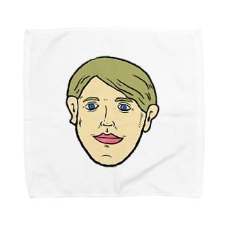 ブロンド Towel handkerchiefs