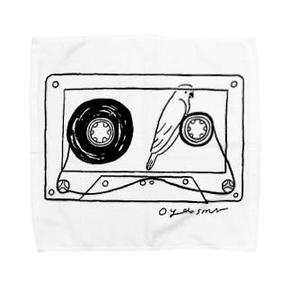テープの幻 タオルハンカチ