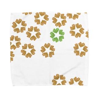 more heart plus Towel handkerchiefs