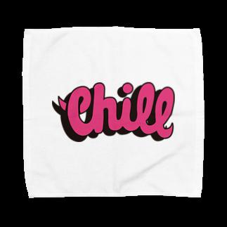 chillchillchillinのちるちるちりん Towel handkerchiefs