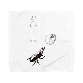 わくわくなつ休みシリーズ Towel handkerchiefs