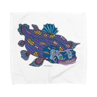 シーラカンス Towel handkerchiefs