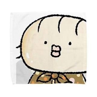 ちむ(きのこのマント) Towel handkerchiefs
