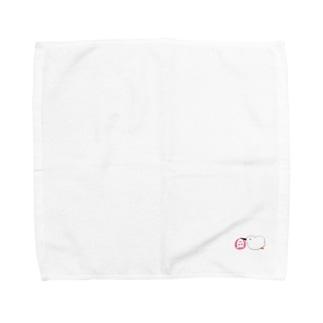 お届けコウノトリちゃん Towel handkerchiefs