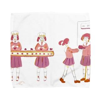 ハート工場 Towel handkerchiefs