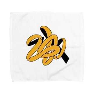 にょろにょろ Towel handkerchiefs