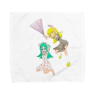 ハリセンアタック Towel handkerchiefs