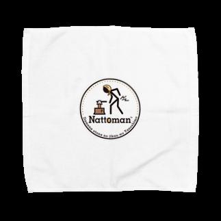 へルきゃんの茨城のスター!納豆マン Towel handkerchiefs