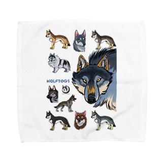 WOLFDOGS Towel handkerchiefs