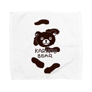 かりんとベア02 Towel handkerchiefs