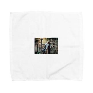 雨に唄えば Towel handkerchiefs