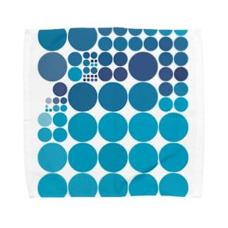 水玉シリーズ27 Towel handkerchiefs