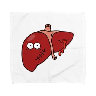 Broken Liver / 内臓の内情 Towel handkerchiefs
