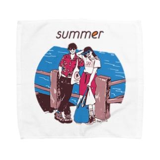 じゃ、夏なんで Towel handkerchiefs