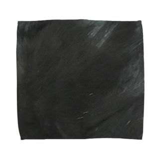 綾四季/猫の毛柄005 Towel handkerchiefs