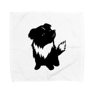 【nina&bart】素バート Towel handkerchiefs
